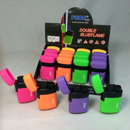 briquet double flamme