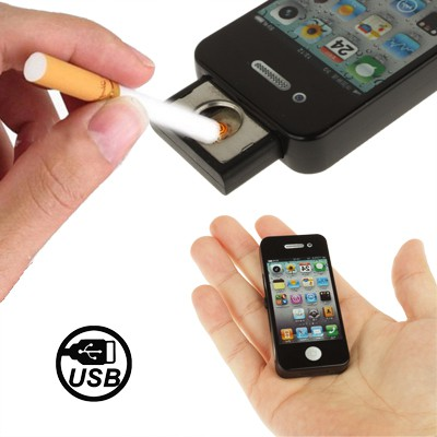 briquet usb iphone