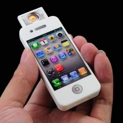 briquet forme iphone